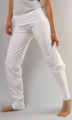 Legging Sohang – blanc – Terre du Yoga  ca2f6a63a57
